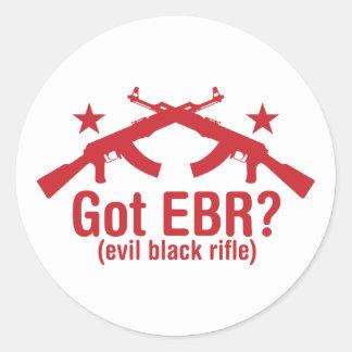 Got EBR? AK47 Classic Round Sticker