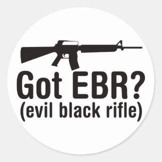 Got EBR? Basic AR15 Classic Round Sticker