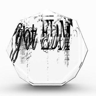 Got EDM Acrylic Award