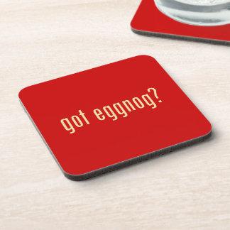 got eggnog? beverage coaster
