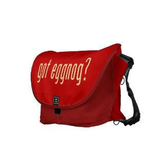 got eggnog? courier bag