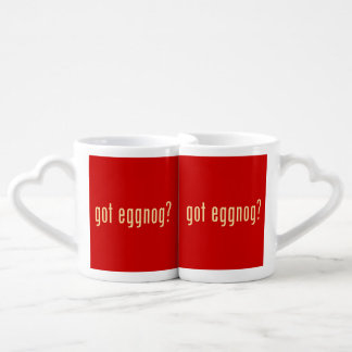 got eggnog? couples' coffee mug set