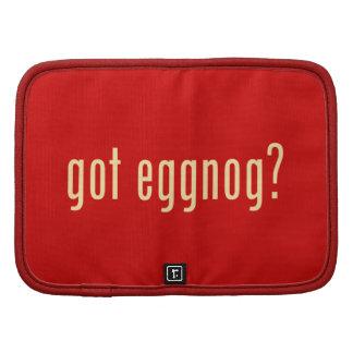 got eggnog? planner