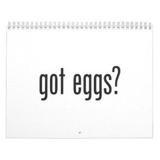 got eggs wall calendars