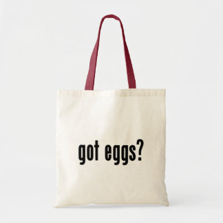 got eggs? tote bag