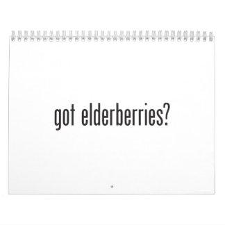 got elderberries calendar