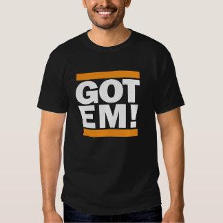 Got Em! San Francisco Orange and Black T shirt. Shirt