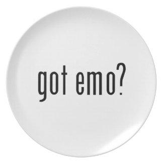 got emo? party plates