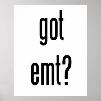 got emt? poster