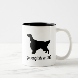 Got English Setter Two-Tone Coffee Mug
