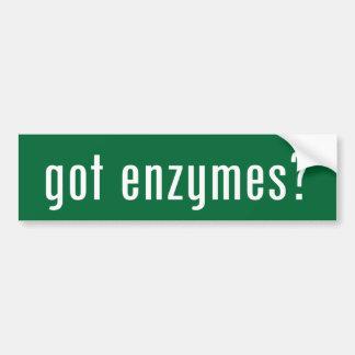 got enzymes? bumper sticker