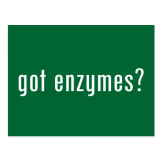 got enzymes? postcard