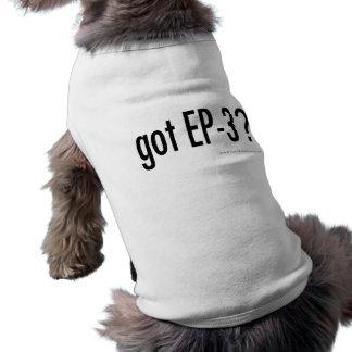 got EP3? dog shirt