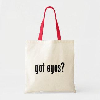got eyes? tote bag