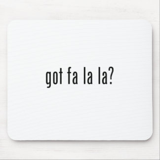 got fa la la? mouse pad