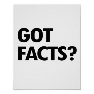 GOT FACTS - - Pro-Science - Poster