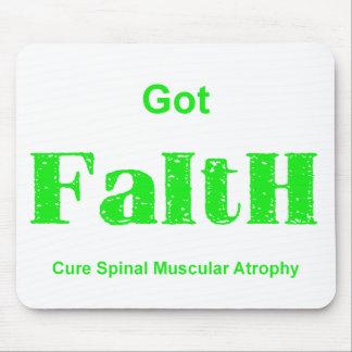 Got Faith - Green Mouse Pad