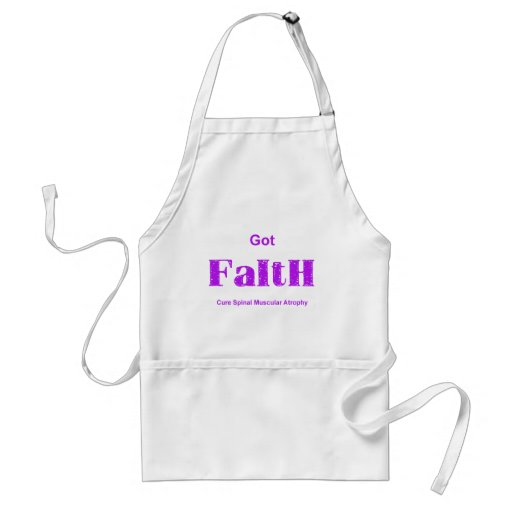 Got Faith - Purple Adult Apron