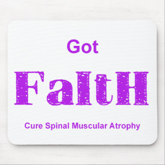 Got Faith - Purple Mouse Pad