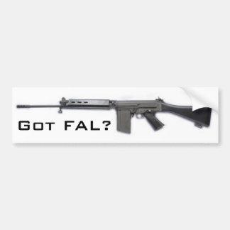 Got FAL? Bumper Sticker