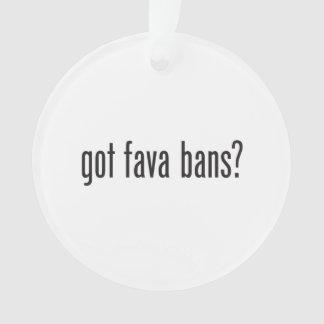 got fava bans