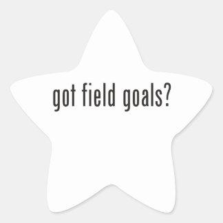 got field goals? star sticker