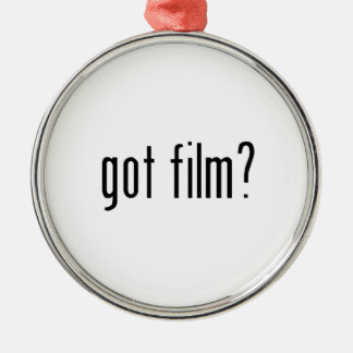 got film? metal ornament