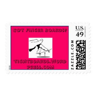 Got Finger Boards? Postage Stamp