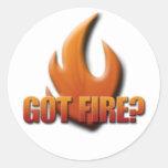 Got Fire? Stickers