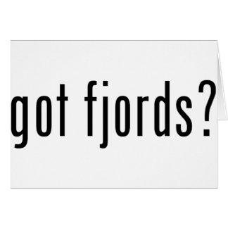 got fjords? card