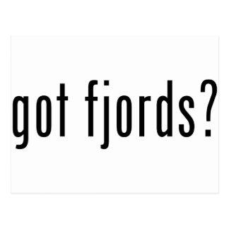 got fjords? postcard