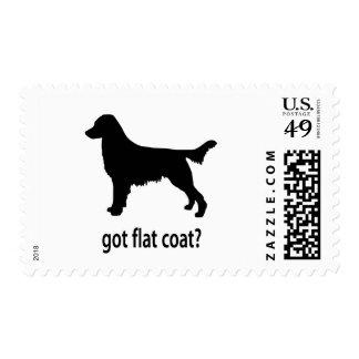 Got Flatcoat Postage Stamps