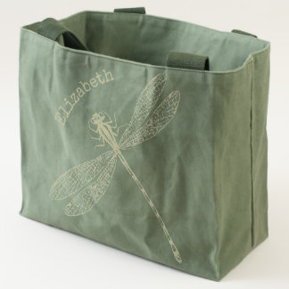 Got Flying Wings / Dragonfly / Personalized Tote