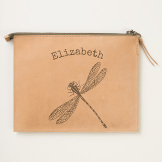 Got Flying Wings / Dragonfly / Personalized Travel Pouch