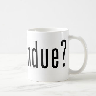 got fondue? coffee mug