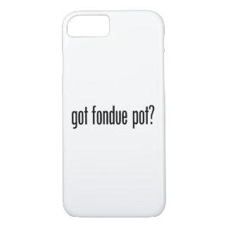 got fondue pot iPhone 8/7 case