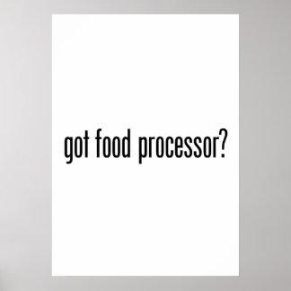 got food processor poster