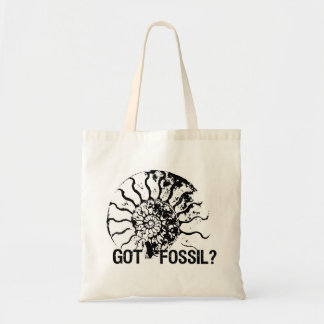 GOT FOSSIL? Ammonite Tote Bag