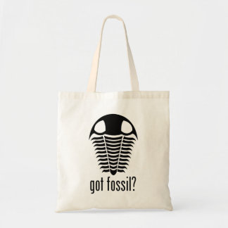 GOT FOSSIL? Trilobite Canvas Bag