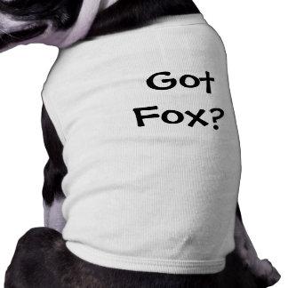 Got Fox? Pet T-shirt