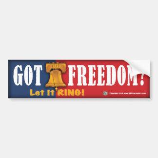 Got Freedom? Bumper Sticker