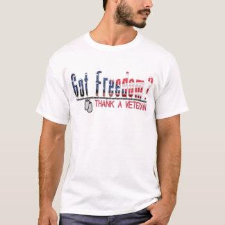 Got Freedom? Thank A Veteran T-Shirt