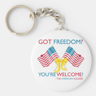Got Freedom - You re Welcome Key Chain