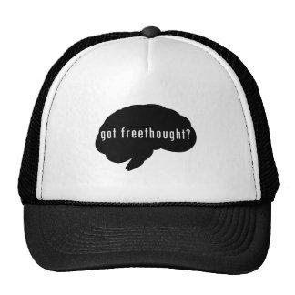 Got Freethought? (Black) Trucker Hat