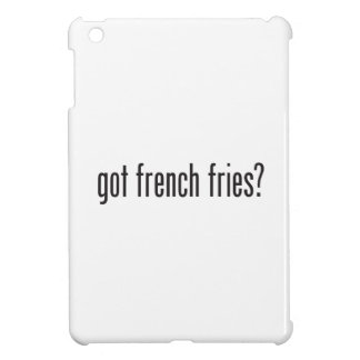 got french fries cover for the iPad mini