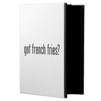 got french fries iPad air case