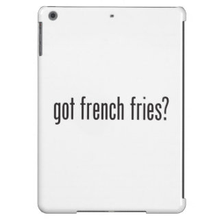 got french fries iPad air covers