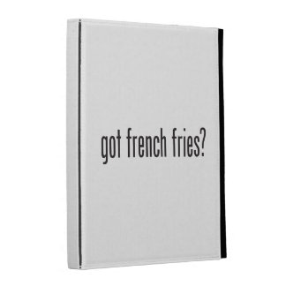 got french fries iPad folio cases