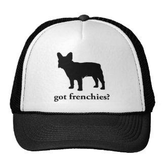 got frenchies? mesh hats