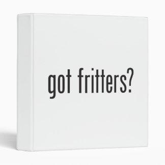 got fritters 3 ring binder